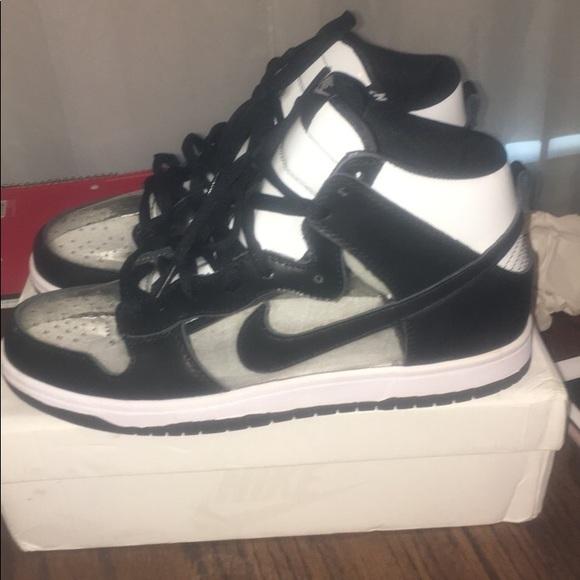 new concept 24ebc 5540a Comme des Garcons Other - Comme des Garçons X Nike dunk high clear shoes
